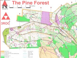 Pine Forest O map